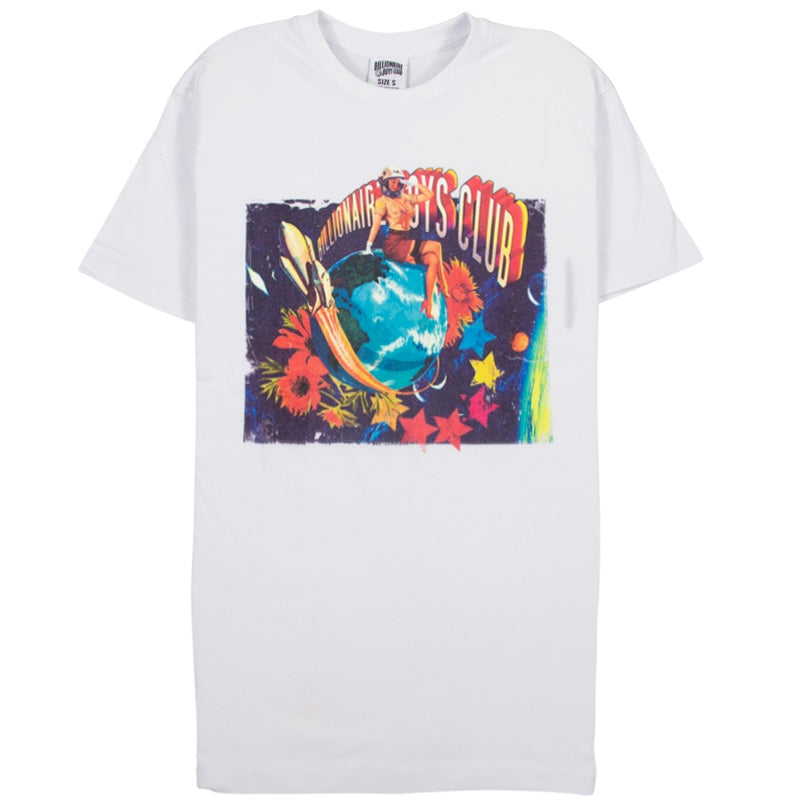 Billionaire Boys Club Pin Up White T-Shirt