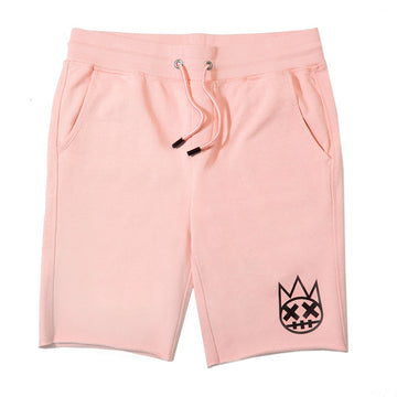 Cult Of Individuality Pink Sweatshorts