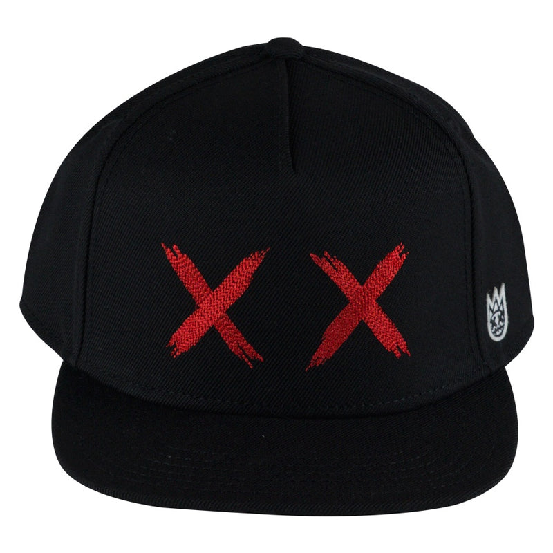 Cult of Individuality Black XX Flat Visor Cap