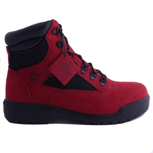 "Timberland 6"" Field Boot WP L/F Ruby Red"