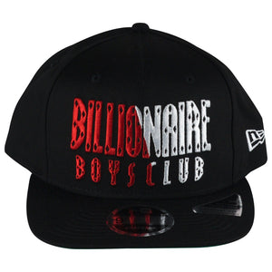 Billionaire Boys Club Black Split Front Snapback Hat