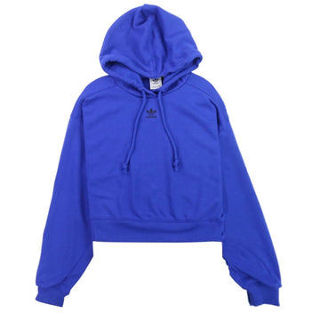 Adidas Women's Adicolor Essentials Blue Hoodie