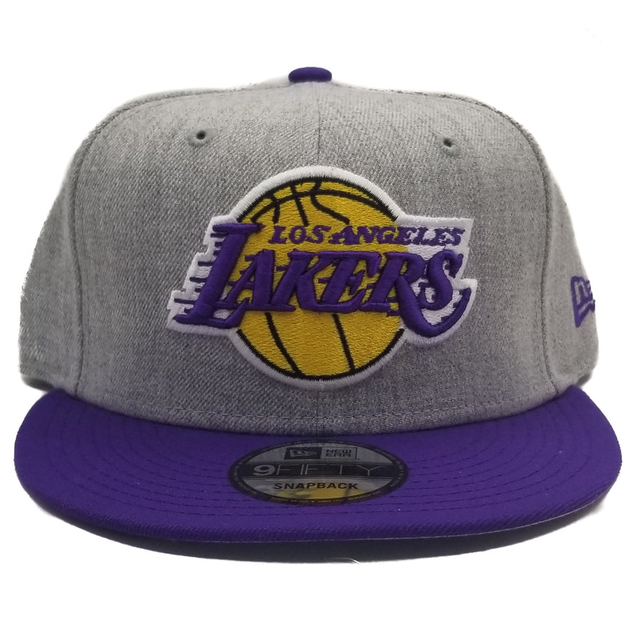 New Era Los Angeles Lakers 9Fifty 2Tone Grey Adjustable Snapback