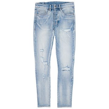 Ksubi Chitch Punk Blue Trashed Denim Jeans