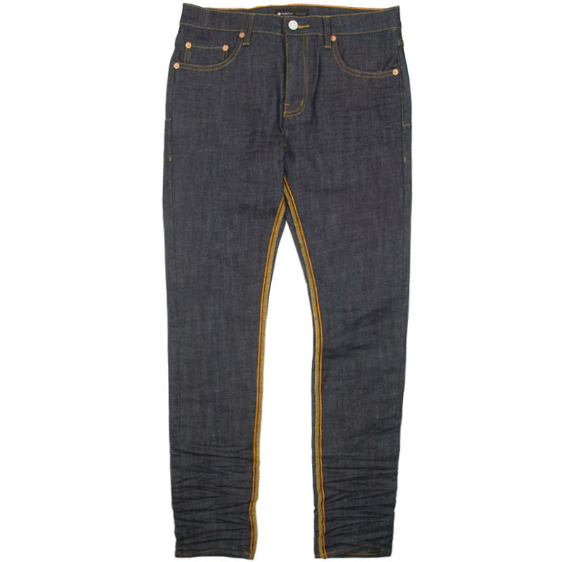Purple Brand Raw Indigo Reverse Inseam Jeans