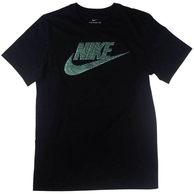 Nike Men's Black/Mint T-Shirt