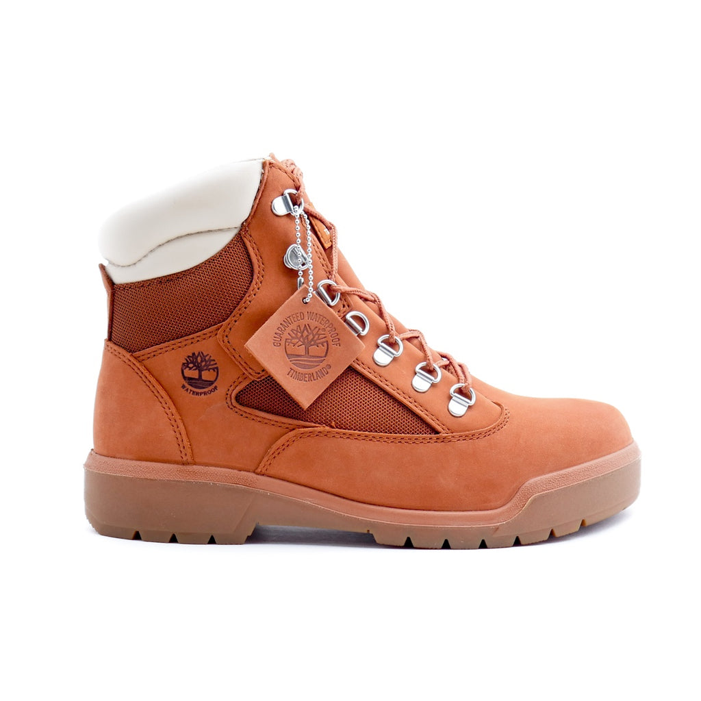 Timberland 6-inch Burnt Orange Field Boot