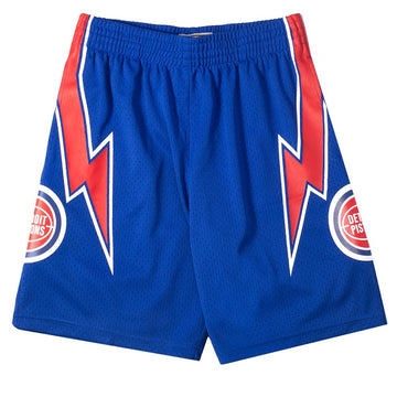 Mitchell & Ness Swingman Basketball Shorts 'Pistons 78-79'