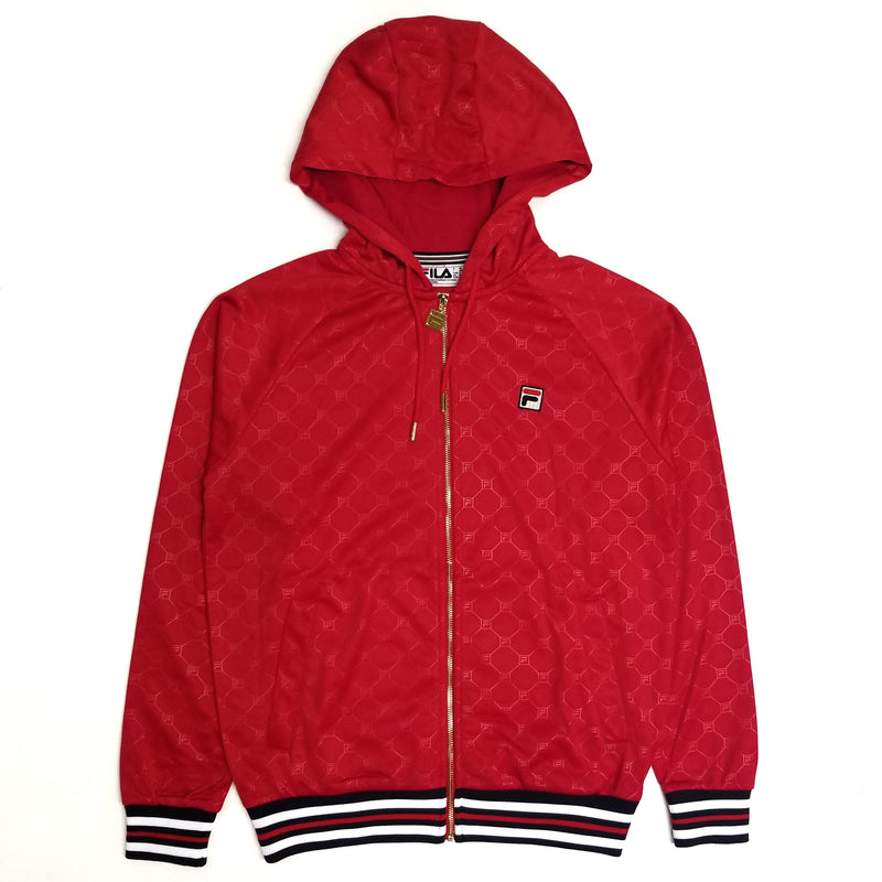 Fila Men's Chinese Red Royce Hoodie