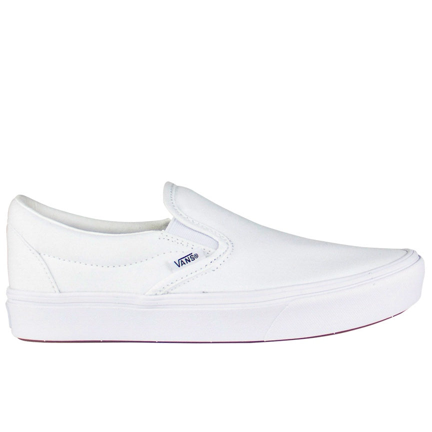 Vans Comfycush True White Slip-On