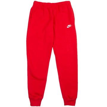 Nike Sportswear Club Fleece Red Joggers