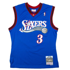 Mitchell & Ness Swingman Alternate Jersey Philadelphia 76ers Allen Iverson