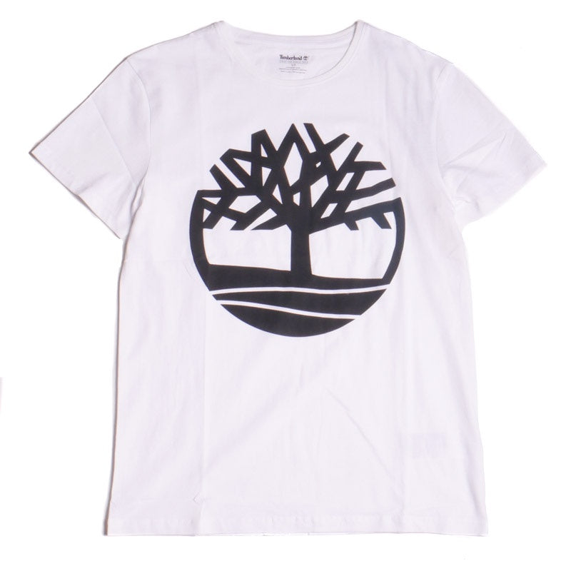 Timberland Men's Seasonal Logo White Tree T-Shirt