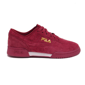 Fila Men's Original Fitness Burgundy Lineker