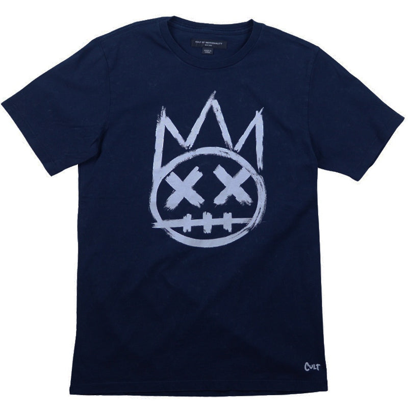 Cult Of Individuality Blue Acid Small Shimuchan Logo T-Shirt