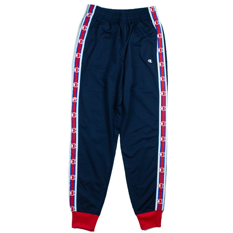 Champion Men's Navy Side Tape Track Pant