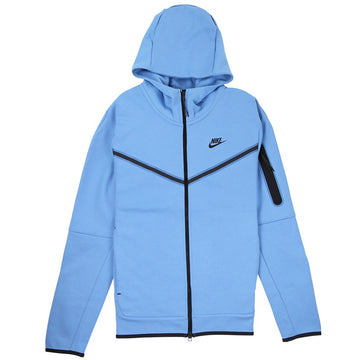 Nike Sportswear Tech Fleece Full-Zip Light Blue Hoodie