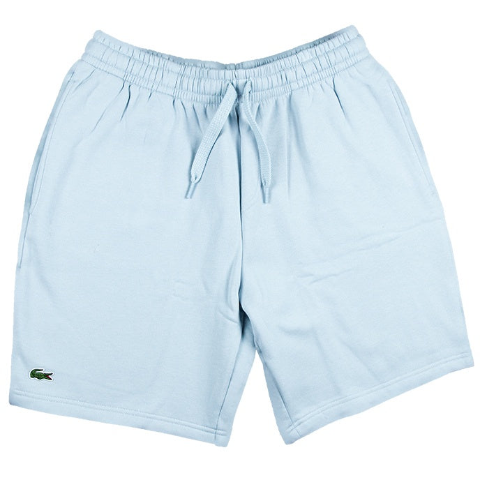 Lacoste Sport Light Grey Tennis Fleece Shorts