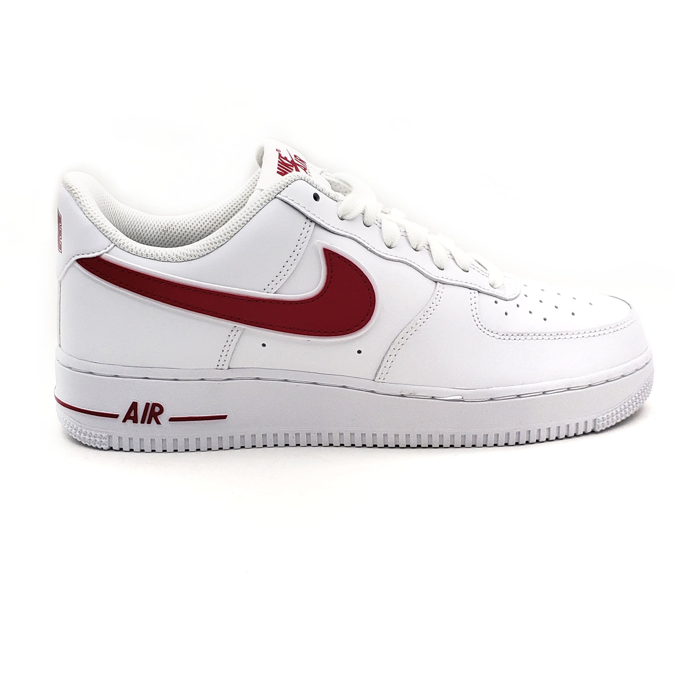 Nike Air Force 1 07 3 WhiteRed in 2020 | Air force shoes