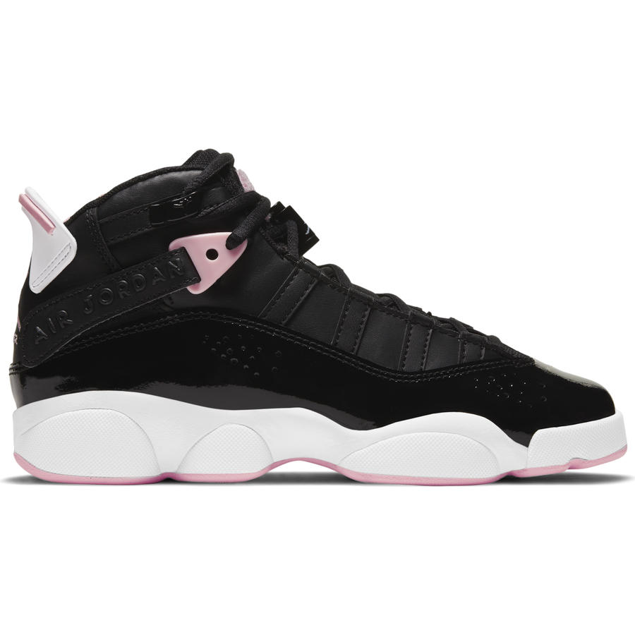 Air Jordan 6 Rings (GS) Black/Pink