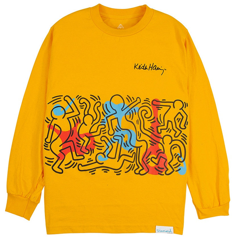 Diamond Supply x Keith Haring Rhythm and Motion T-Shirt