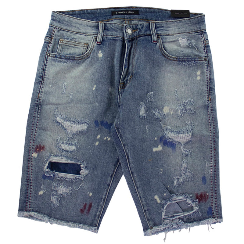 Embellish Anderson Denim Shorts