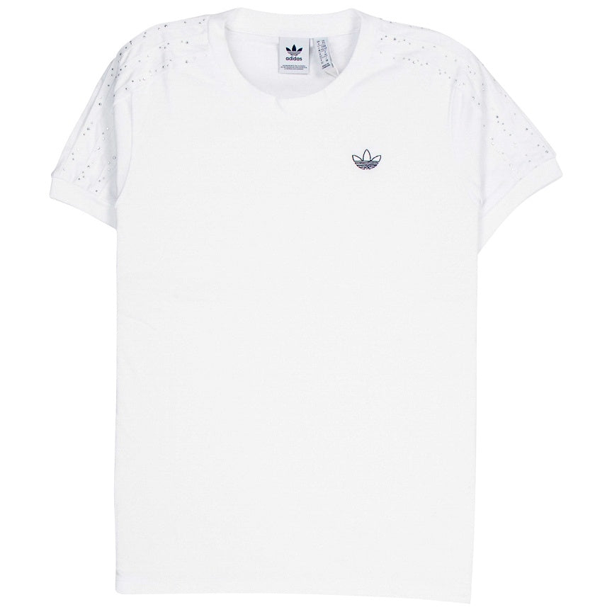 Adidas Women's BB White T-Shirt