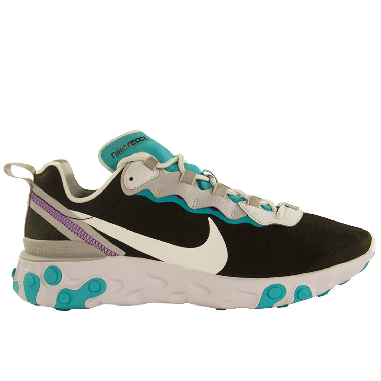 Nike React Element 55 SE 'Black Aqua'