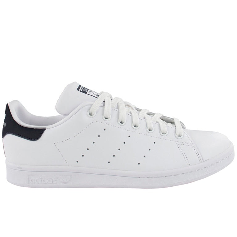 Adidas Originals White/Dark Blue Stan Smith