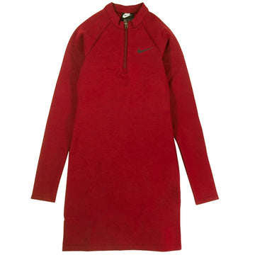 Nike Sportswear Women's Long Sleeve Red Dress