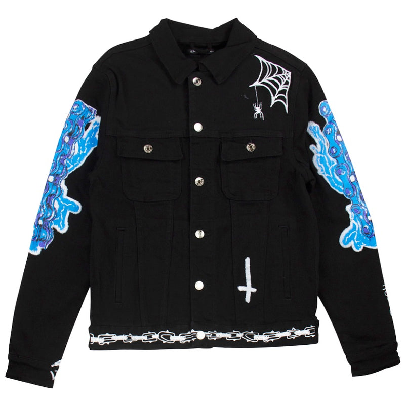 Embellish Reapers Denim Jacket