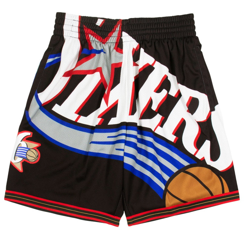 Mitchell & Ness Big Face Shorts Philadelphia 76ers
