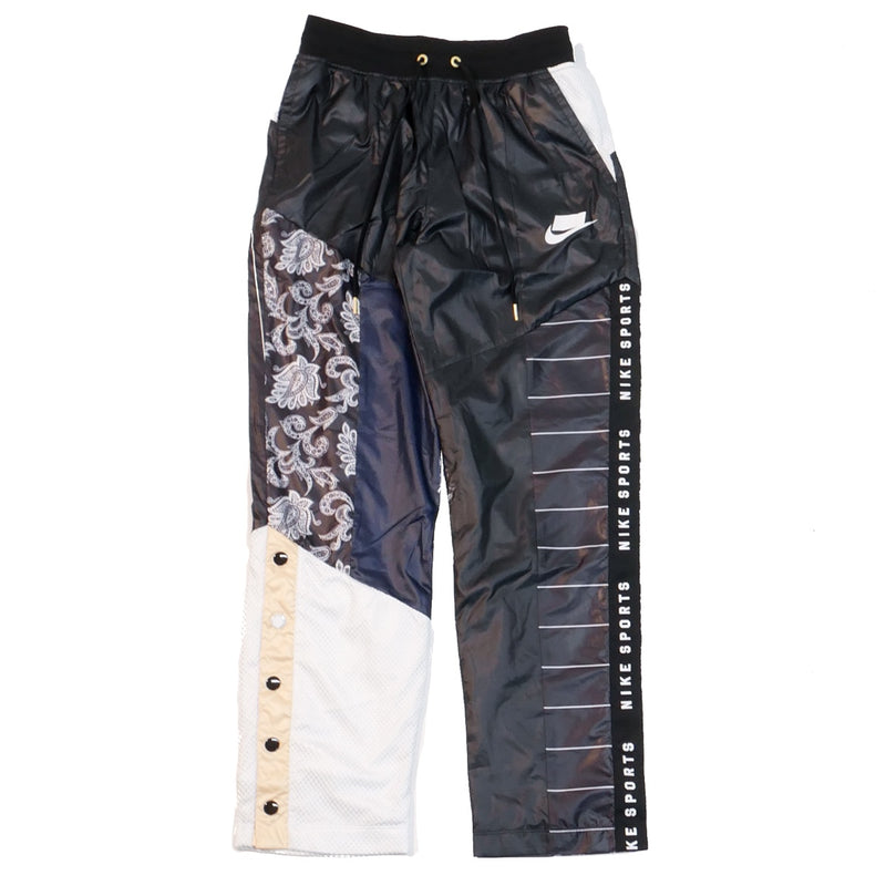Nike Women's NSW Patchwork Track Pants Black/White