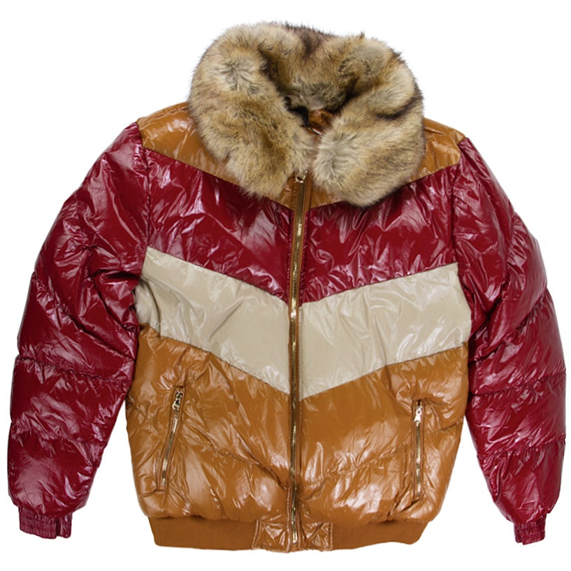 Jordan Craig Sugar Hill Timber Wheat Nylon Puffer Jacket