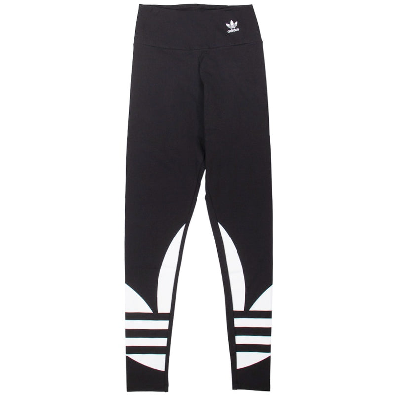 Adidas Women's Large Logo Black Tights