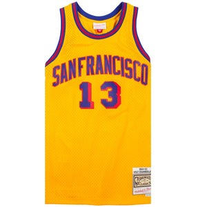 Mitchell & Ness NBA Swingman 1962-63 San Francisco Warriors Wilt Chamberlain