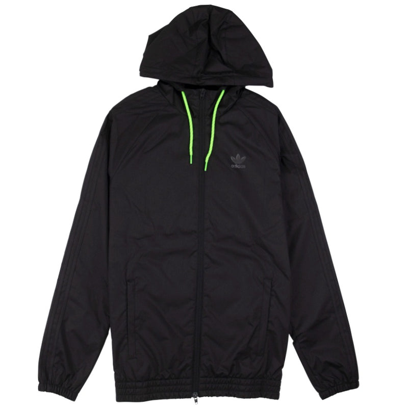 Adidas Winterized Black Windbreaker