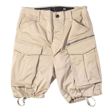 G-Star Raw Rovic Zip Relaxed Khaki Shorts