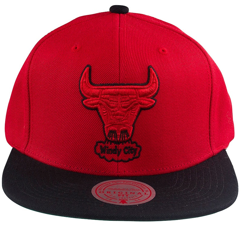 Mitchell & Ness NBA Pop Block Snapback Chicago Bulls