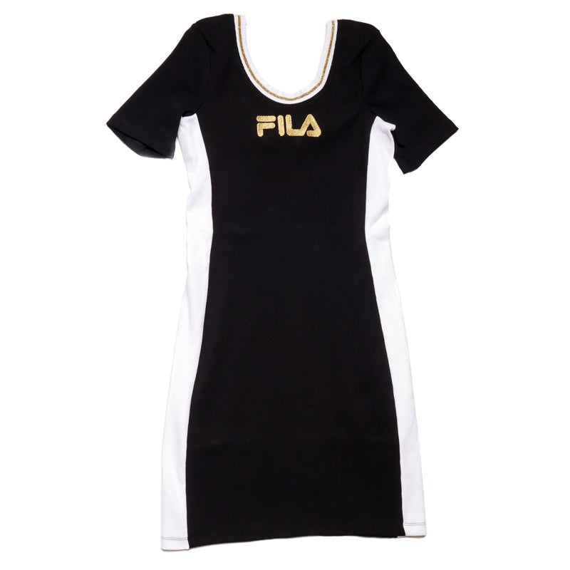 Fila Women's Black Beth Bodycon Dress