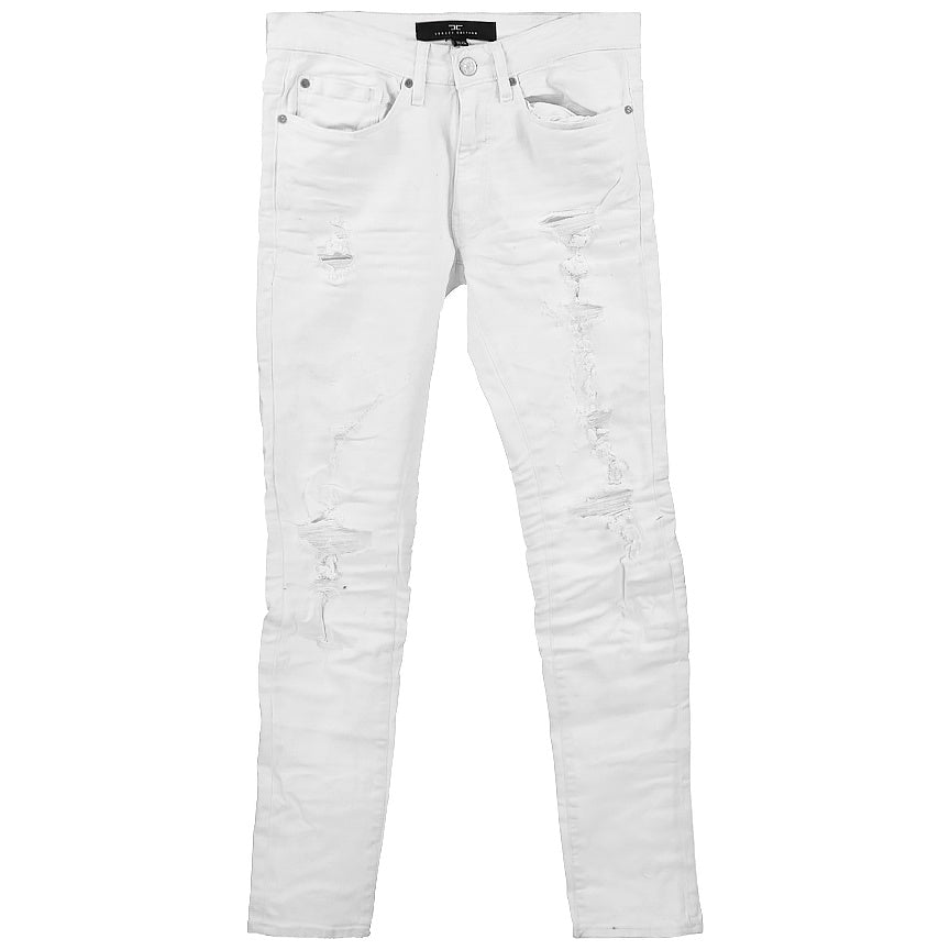 Jordan Craig White Sean Tourmaline Denim Jeans