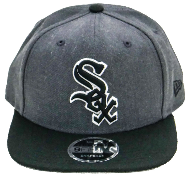 New Era MLB Chicago White Sox Graphite Baycik 9FIFTY Snapback Cap