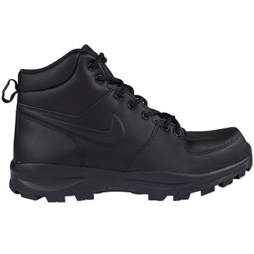 Nike Leather Black Manoa