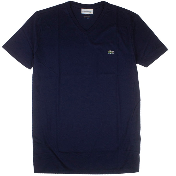 Lacoste Navy Pima Cotton Jersey T-Shirt