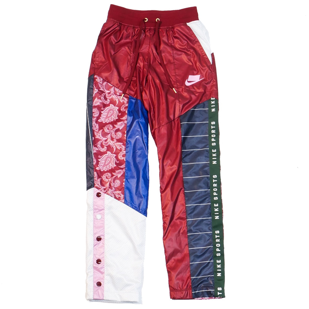 01520715e Nike Women's NSW Patchwork Track Pants – Puffer Reds