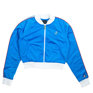 Champion Women's Blue Track Jacket