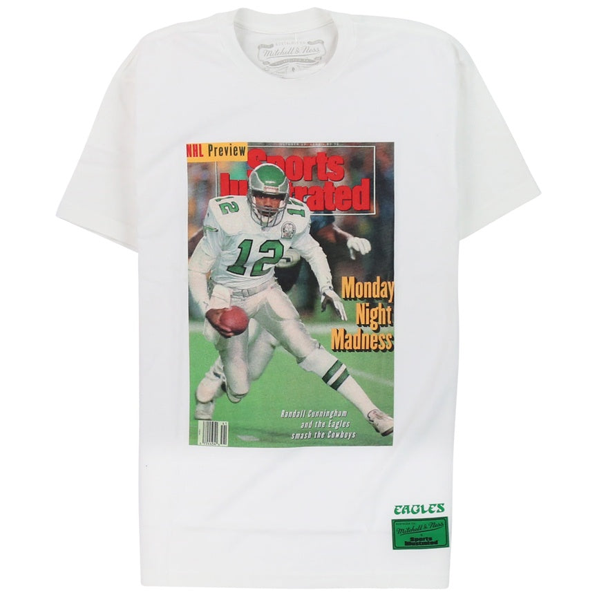Mitchell & Ness Sports Illustrated Vintage Philadelphia Eagles Randall Cunningham T-Shirt
