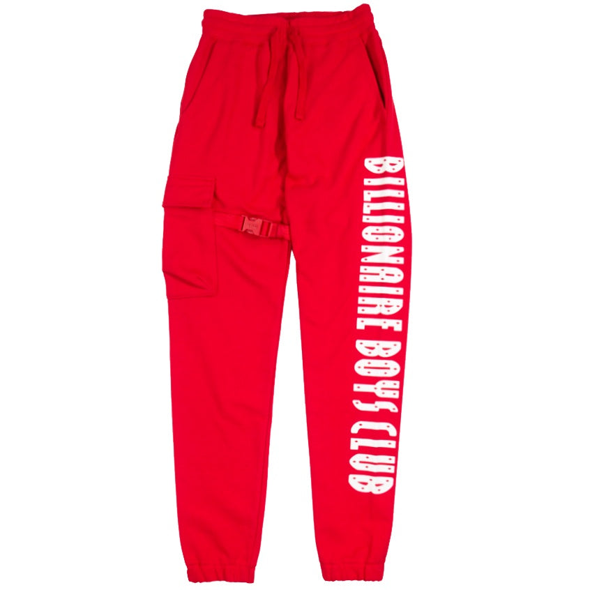 Billionaire Boys Club Red Getaway Sweatpant