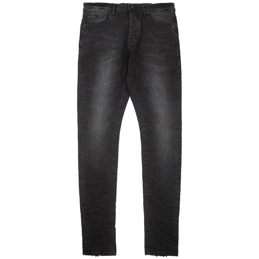 Purple Brand Black Wash Slim Fit-Low Rise Jeans