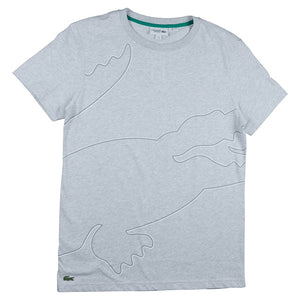 Lacoste Grey Crew Neck Tech Jersey T-shirt